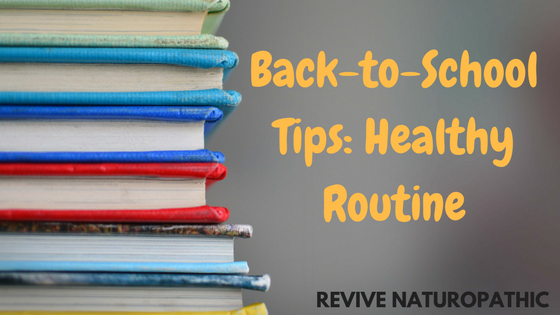 Back-to-school tips for a healthy routine